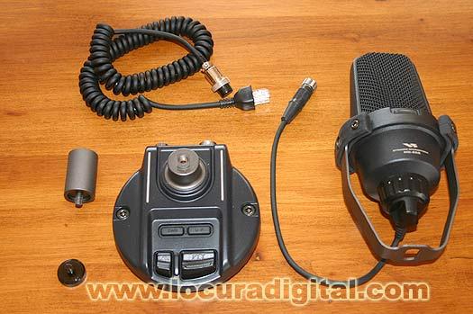 YAESU MD 200A8X Microphone de nappe pour FT 817/FT857/FT 897