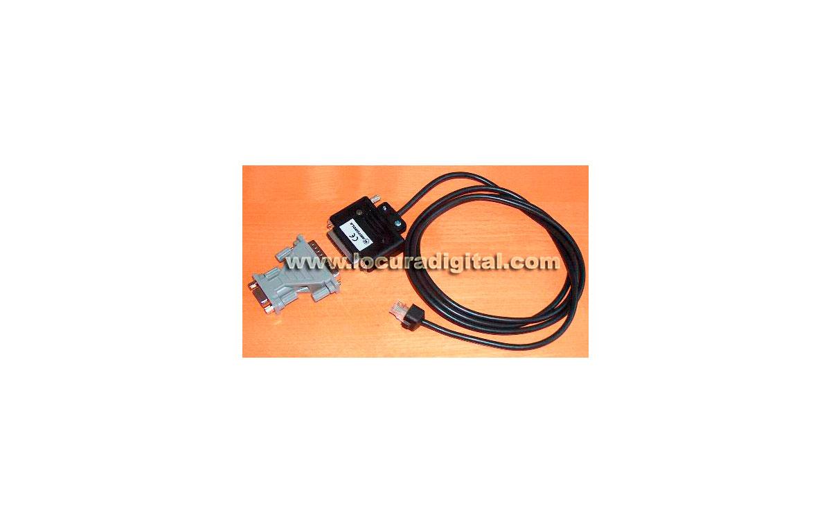 MOTOROLA RKN4081 - Cable de programación para emisoras Motorola Serie GM