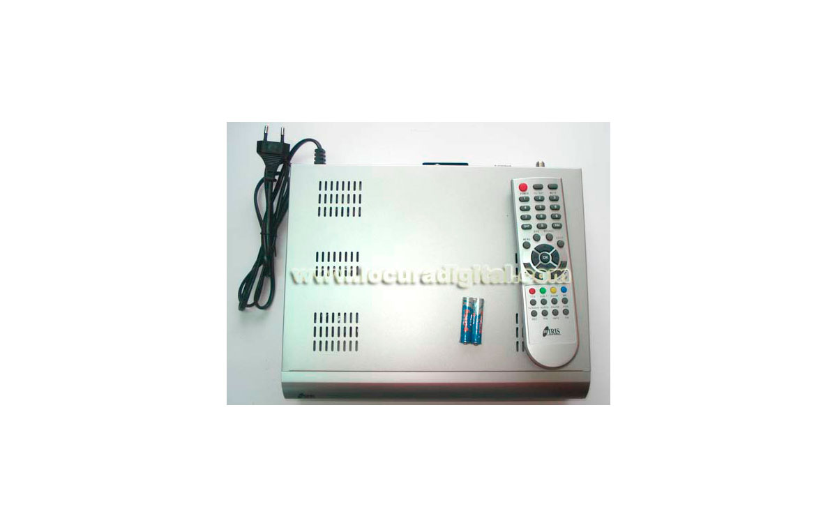 IRIS 9800FTA Satellite Receiver + CABLE NULL MODEM