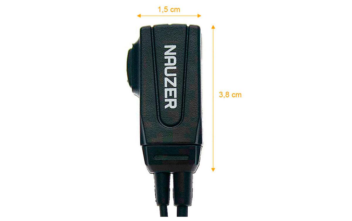 PIN-39-N1. Casque Micro-tube avec PTT sp?al pour les bruyants