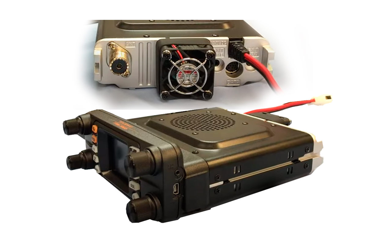 YAESU FT300DE Emisora BIBANDA 144/430 MHz potencia 50 watios, Full Duplex