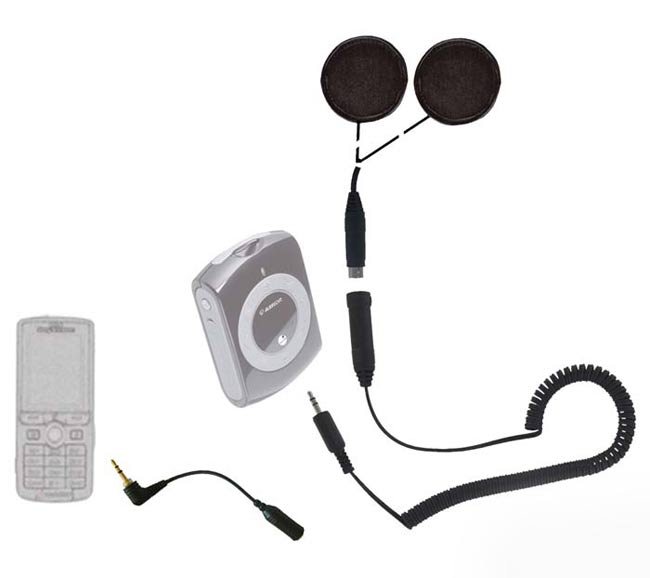 SHS300 Auriculares para casco especial iPod