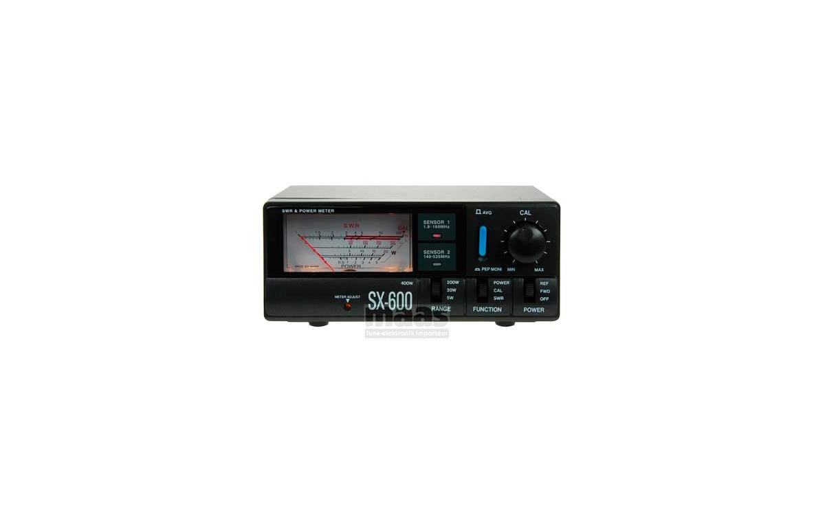 SX 600 Medidor R.O.E. / Watimetro hasta 200 w. 1.8 - 525 MHZ