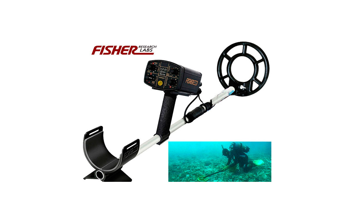 FISHER CZ21-PRO DETECTOR DE METALES SUBMARINO