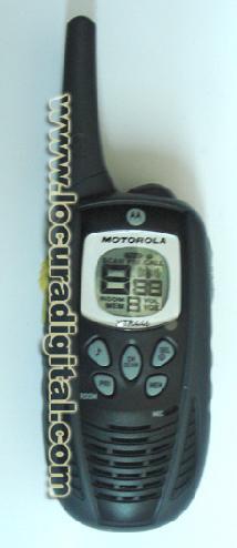 Walkie uso libre Motorola XTR446