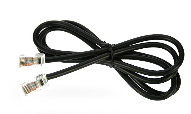 AV24YRJ LAFAYETTE cable conexión YAESU tipo RJ para AV-508 y AV-908.