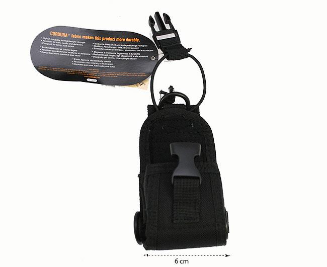 CS01 Funda Universal de Nylon. Fijación para cinturón y arnes. Talla pequeña.