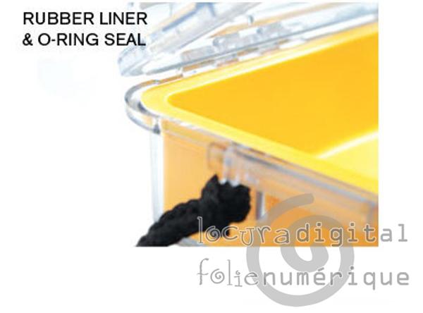 1040-026-100E Micro-Maleta de protección Transparente-Azul