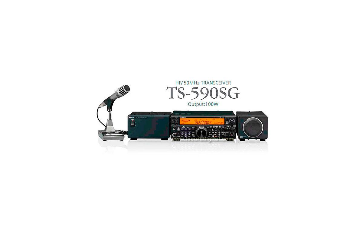 la nueva ts-590sg conserva gran parte de las principales características de su antecesora ts-590s. entre las mejoras cabe destacatar la mejora en recepción y emisión.