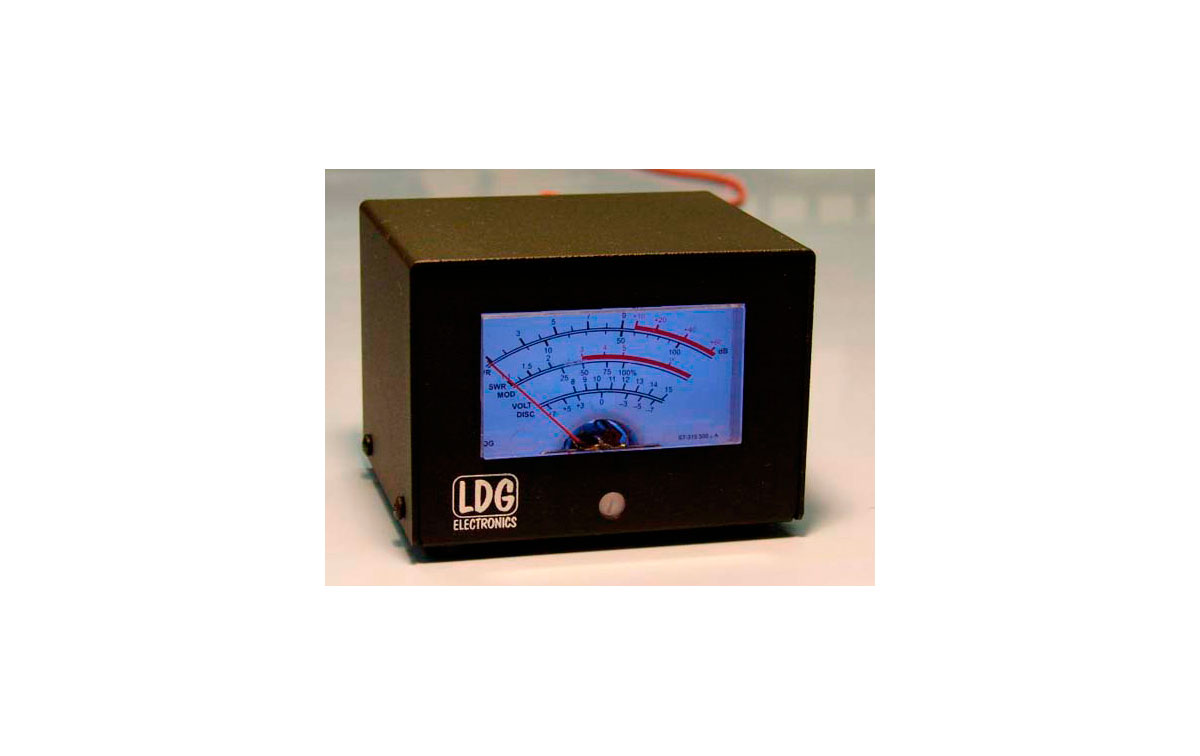 FT METER Medidor LDG Retroiluminado Azul para YAESU FT897 Y FT857
