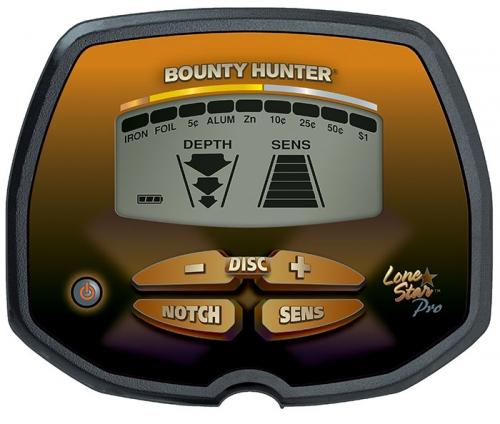 LONE STAR PRO BOUNTY HUNTER Detector de Metáles profesional