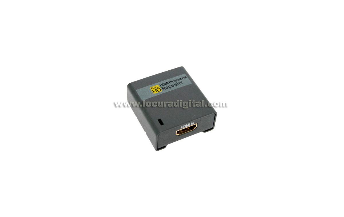 HDR1 SHOP+ Amplificador o repetidor HDMI especial para largas tiradas de cable en aparatos de ALTA D