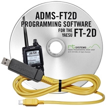 adms-ft2d yaesu kit de programación usb para yaesu ft-2d