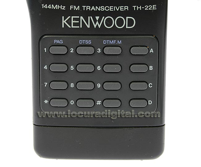 DTMF KEYPAD S79041225 KENWOOD TH-22