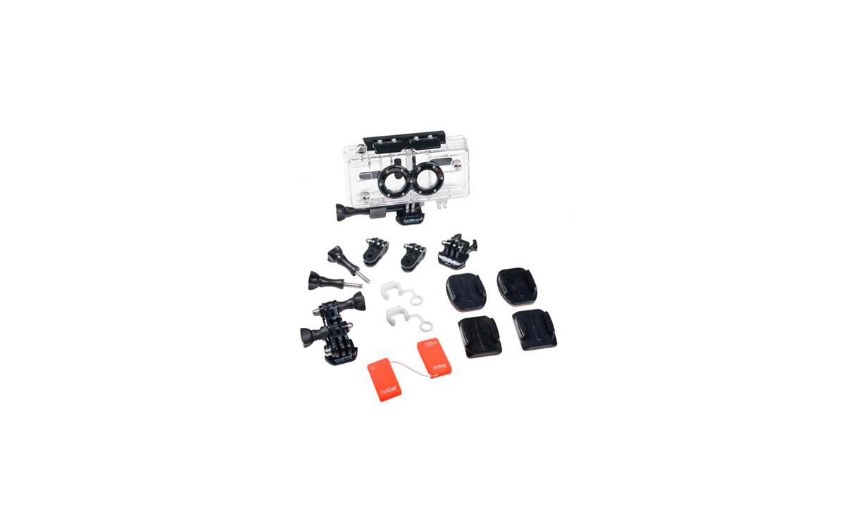 AHD3D001 GroPro HERO 3D HEROSYSTEM, doble carcasa para hacer 3D
