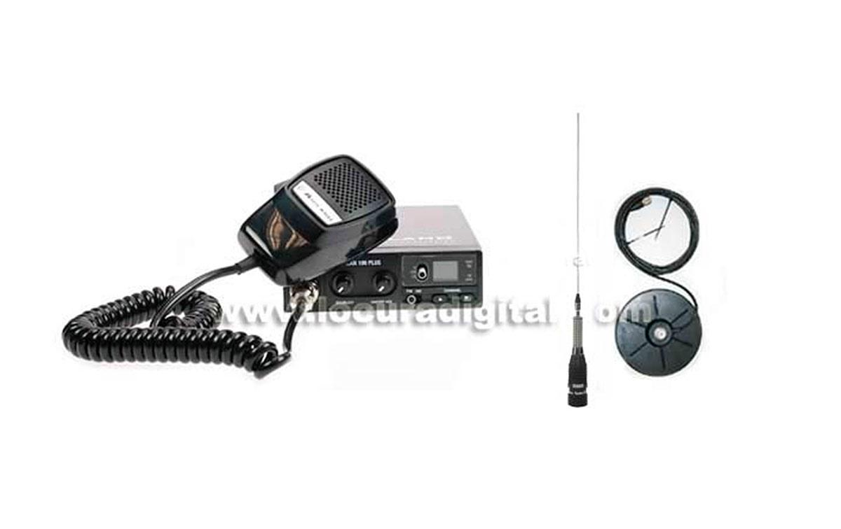 ALAN 100 KIT A + MIRMIDON BRAVO-150 Antenna + BASE Magnetica BM 150 PL