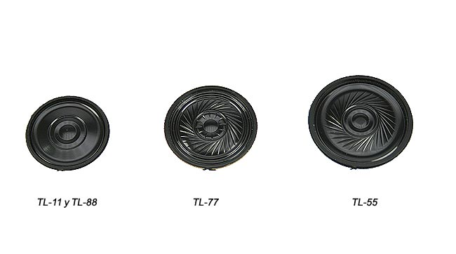 luthor altatl55 spare part. original speaker for luthor tl-55
