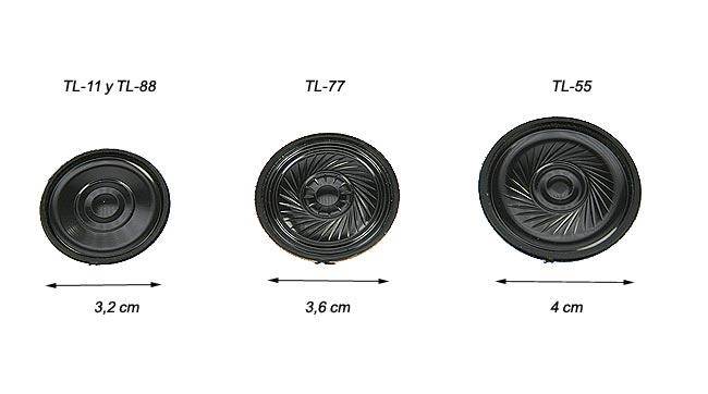 luthor altatl77 spare part. original speaker for luthor tl-77