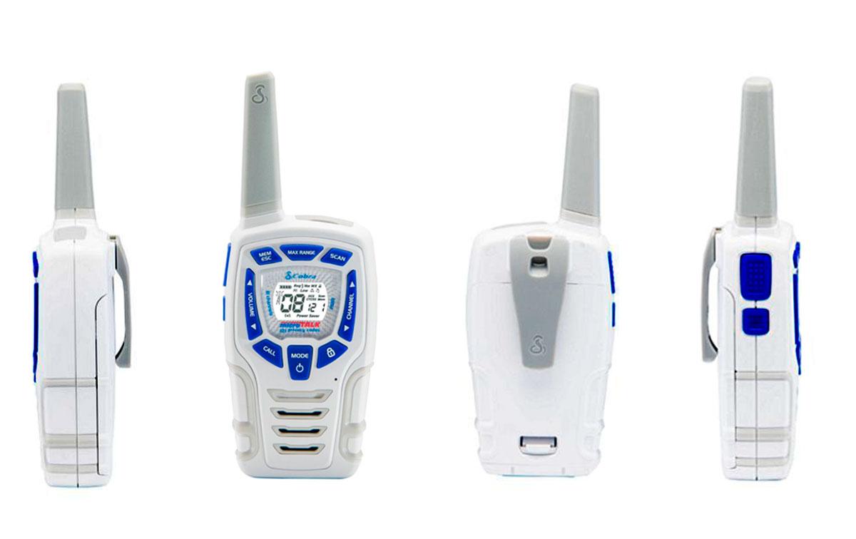 cobra am-845-sn pareja walkies pmr uso libre color blanco