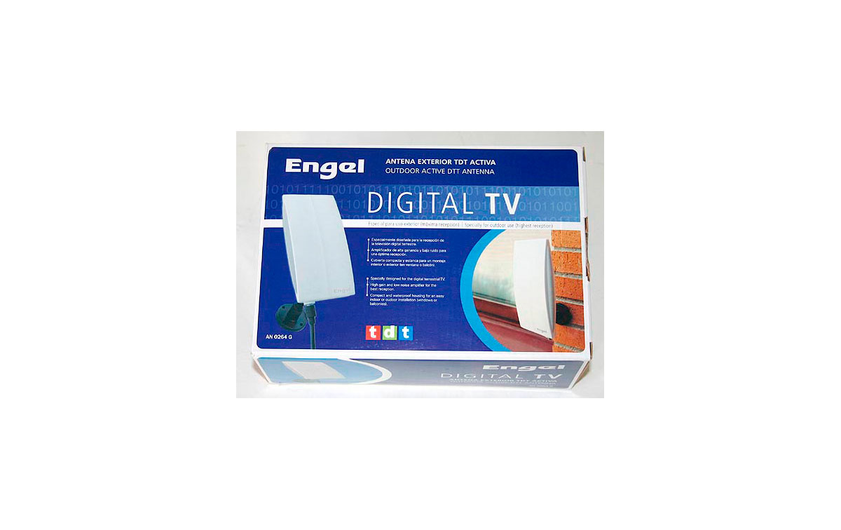 AN 0264 G. ANTENA  EXTERIOR PARA TELEVISION DIGITAL