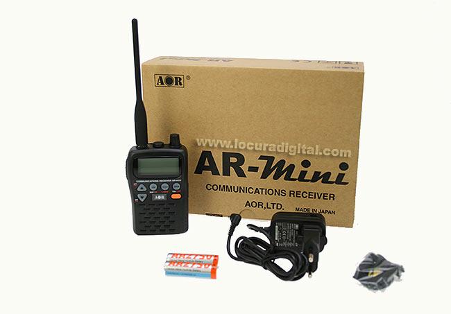 AOR -ARMINI Escaner 100 kHz - 1300 MHz