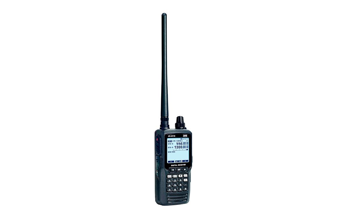 Receptor digital SDR multimodo avanzado banda ancha de 100 kHz a 1300MHz