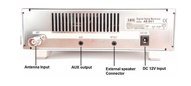 aor- ar-dv1 receptor de banda ancha cubre 100 khz - 1300 mhz.) en los modos analógicos tradicionales (ssb, cw, am, fm, s-fm, w-fm), así como diversos modos digitales. de hecho, no sabemos de ninguna otra radio de esta categoría que puede decodificar el modo de icom d-star, nuevo modo c4fm de yaesu, el modo digital de alinco, nxdn (nota: solamente 6,25 khz), p25 fase 1, etc. características interesantes incluyen: 2000 memorias (en 40 bancos de 50), la exploración de memoria, am , reducción de ruido, notch, visualización de datos digital, reloj, calendario, alarma, temporizador. el conector sd / sdhc soporta funciones de registro. también hay un puerto micro usb. esta radio apoyará campo firmware de actualización. se logra un alto rendimiento ya que el receptor emplea conversión directa por debajo de 18 mhz y superheterodino de conversión de triple por encima de 18 mhz.
