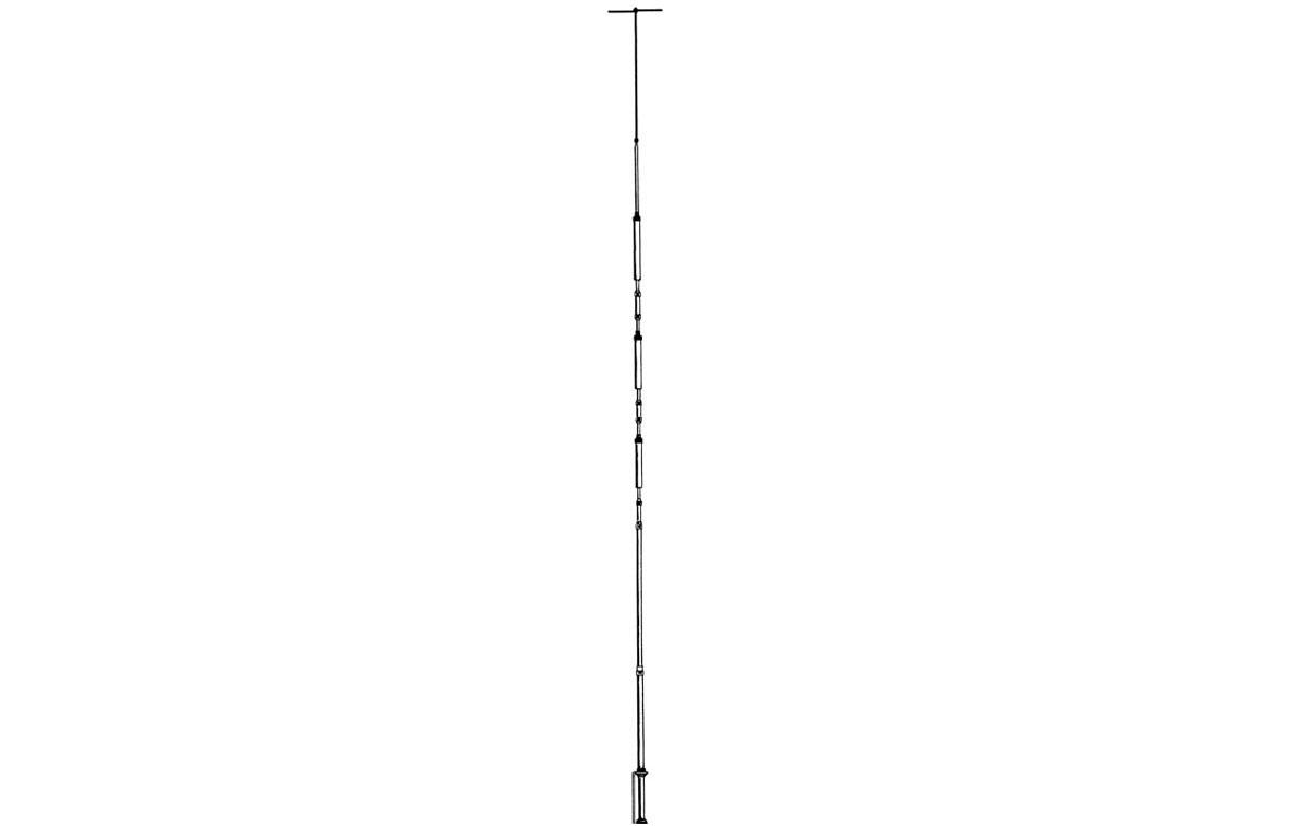 AV-14AVQ HY-GAIN Antena vertical HF multibanda 4 bandas 10,15,20,40 metros