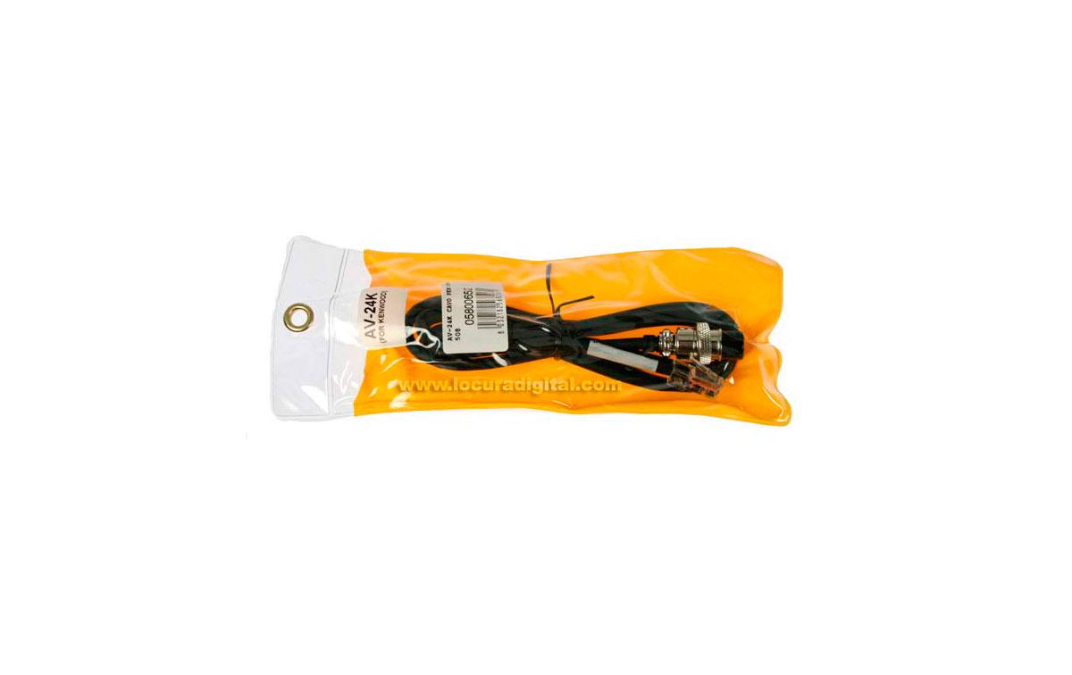 AV24K LAFAYETTE cable de conexión KENWOOD para AV-508 y AV-908