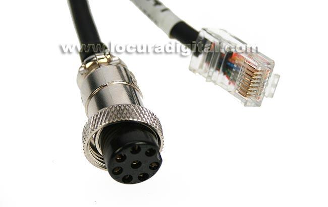 AV24Y LAFAYETTE cable de conexión YAESU para AV-508 y AV-908.
