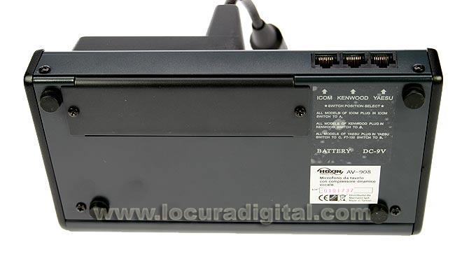 AV908 LAFAYETTE micro sobremesa con ecualizador.