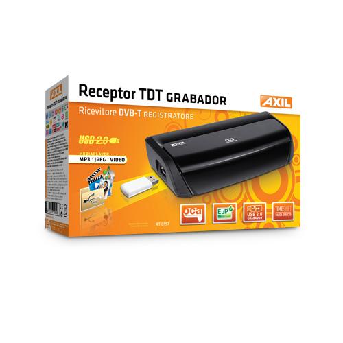 TDT RT0197 RECEPTOR DIGITAL TERRESTRE TDT GRANBADOR