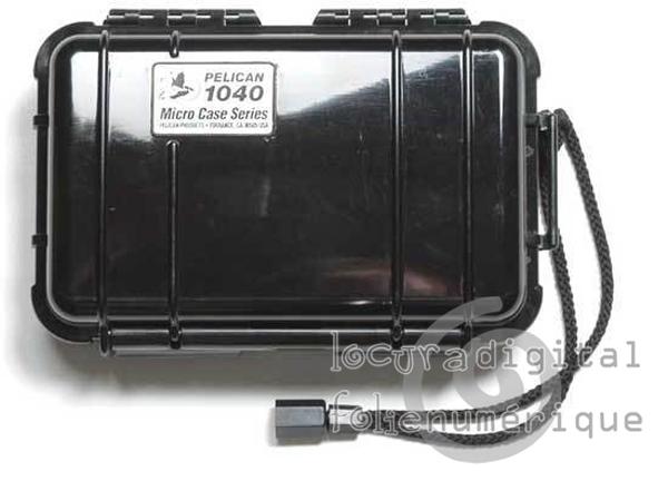 1040-025-110E Micro-Maleta de protección Negra