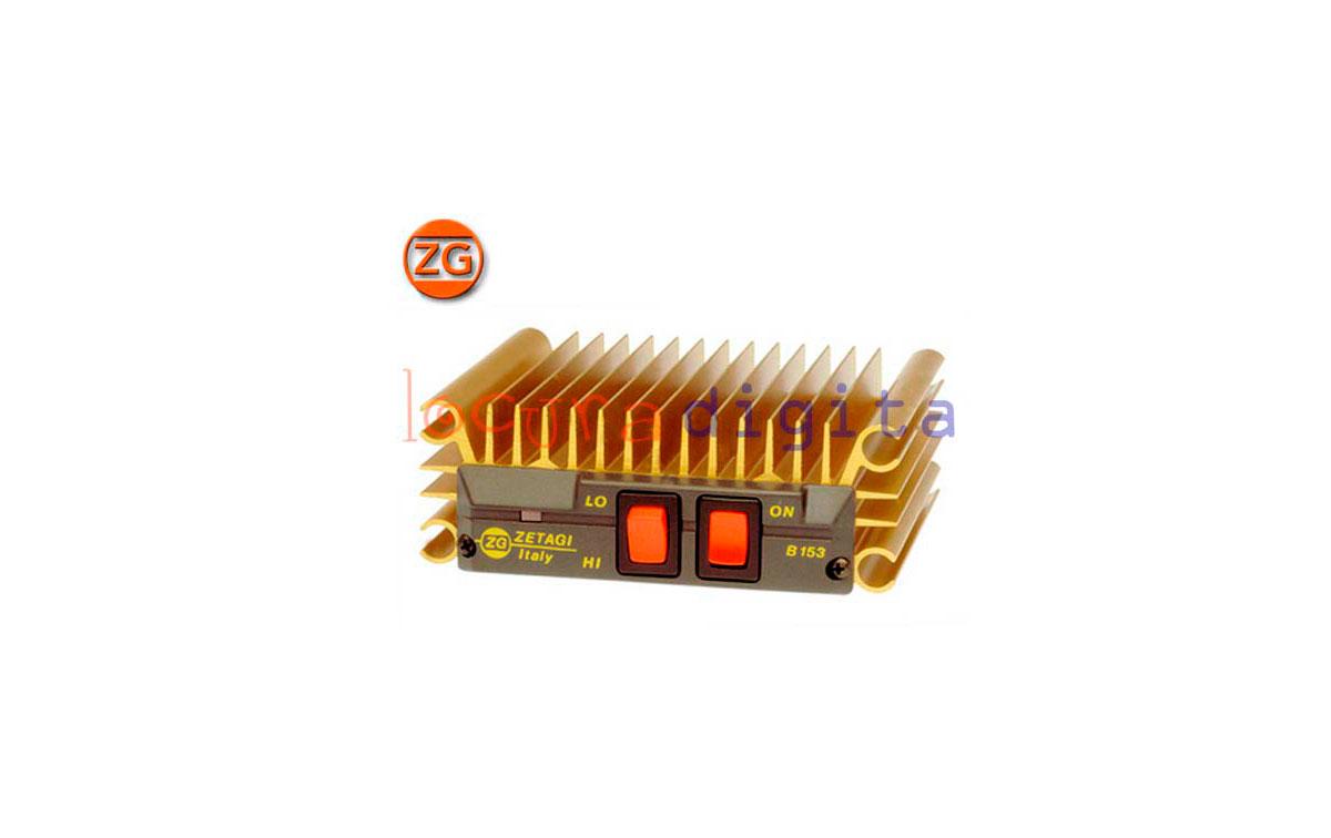 ZETAGI B150  AMPLIFICADOR HF 26-30 Mhz 12V -100 W