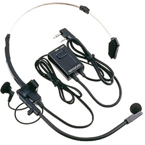 HMC-3. KENWOOD original Micro-headband headset with VOX-PTT valid for TH-F7E, TH-K2E, TH-K2ET, TH-K4E, UBZ-LJ8 BE, TH-D72, TK3301.