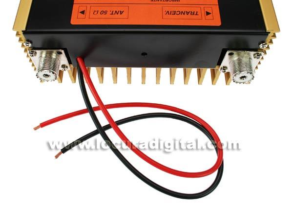 ZETAGI B300P 20-30 Mhz Amplificador Rx 12V-200W pr?a