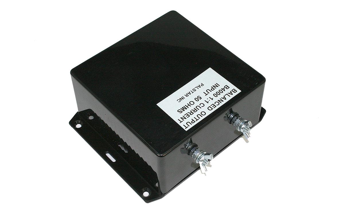 b4000n11 relacion balun 1: 1. para usar con aplicaciones de antena lo-z y antenas de alambre central con cable abierto y líneas de transmisión de doble cable.
