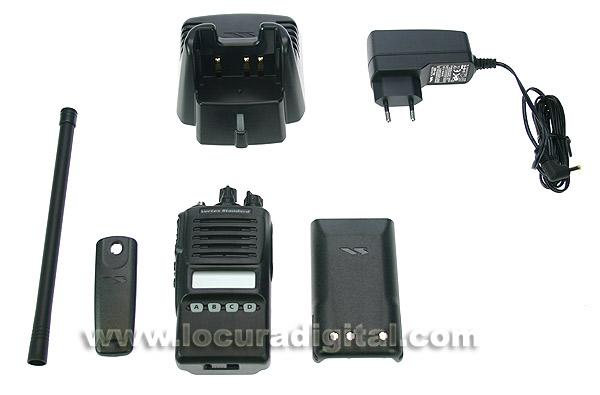 VX354-VHF VERTEX Walkie talkie profesional 136 - 174 Mhz. 16 canales