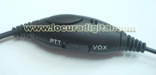 AURICULAR PLX15T5 LARINGOFONO TUBULAR MOTOROLA