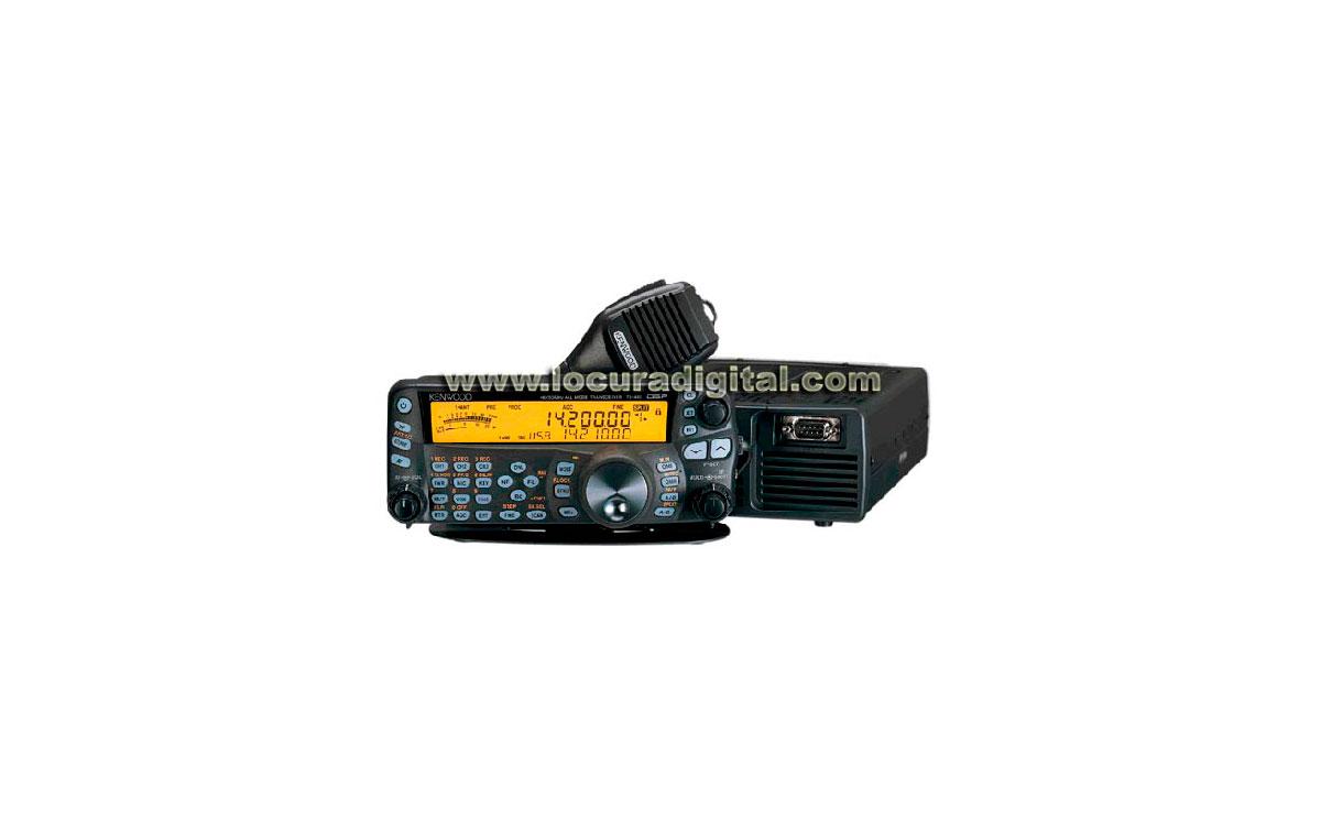 TS-480SAT Emisora KENWOOD HF 50 Mhz Especial para expediciones