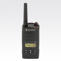 XTNID MOTOROLA wakie profesional PMR-446 para uso libre con DISPLAY