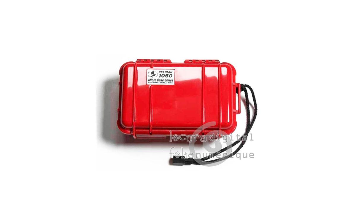1050-025-170E Micro-Maleta de protección Rojo