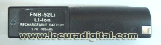 Bateria FNB 52 Li