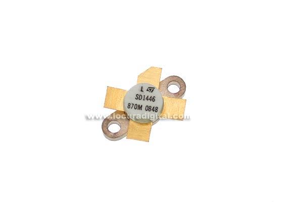 MRF455 TRANSISTOR de potencia equivalente SD1446
