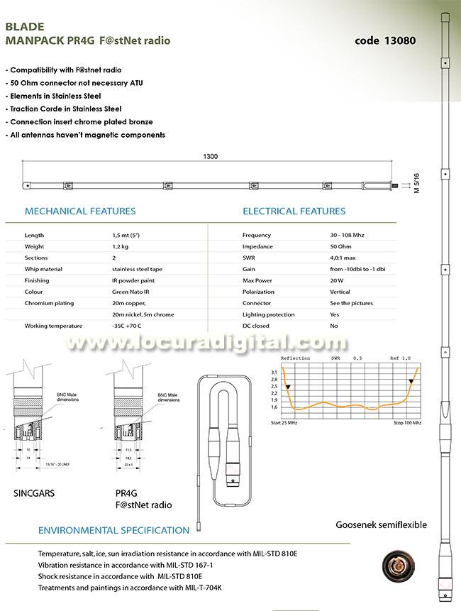 cumple normativas mil-std-810e / mil-std-167-1 / mil-t-704k