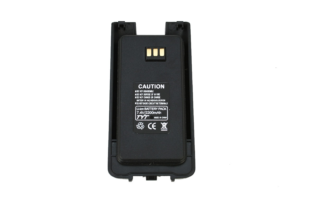 BATMD390LI TYT Bateria 2200mAh 7,4v Li-Ion para MD390/680