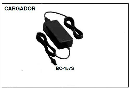 BC 157S Transformador para el cargador BC 197 33 y walkie IC m73
