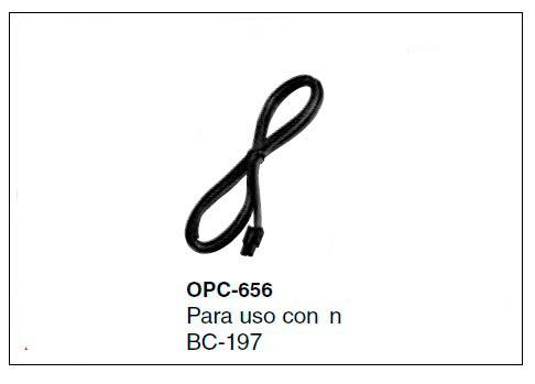 OPC-656 Cable para conexion cargador BC-197-33