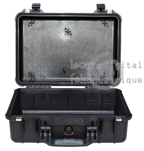 1550-001-110 Black Protective Case without foam