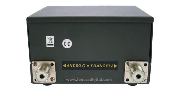 HP202 ZETAGI R.O.E. Meter / Wattmeter 2000 w. 26 to 30 Mhz.
